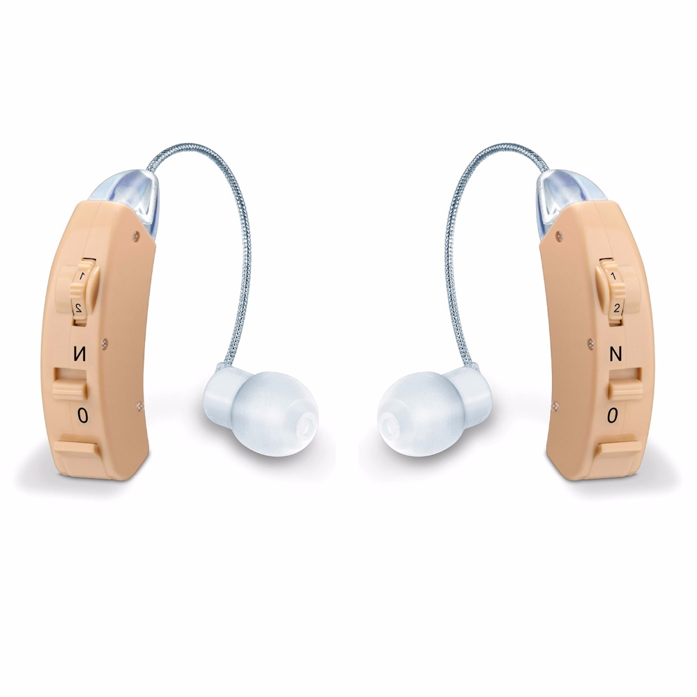 MicroEar Clear Hearing aid for Elderly Young BTE Hearing aids Deaf Ear Amplifier Compared Resound Widex Phonak Siemens Hearing analog bte hearing aid deaf sound amplifier s 288 deaf aid with digital processing chip free shipping