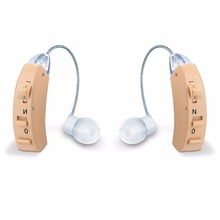MicroEar Clear Hearing aid for Elderly Young BTE Hearing aids Deaf Ear Amplifier Compared Resound Widex Phonak Siemens Hearing все цены