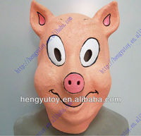 Latex cao su Sống Động nụ cười pig latex full mặt n