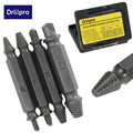 4PCS/Set Double Side Damaged Screw Extractor Drill Bits Out Remover Bolt Stud Tool Wholesale Price