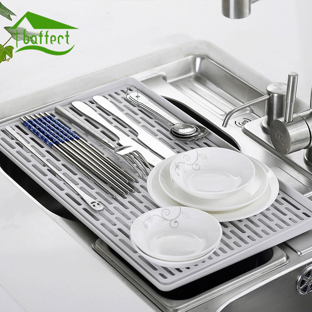 Home Creative Double Layer Hollow Dish Vegetable Water Drainer Tray Multifunction Drying Rack Holder Kitchen Storage & Home Creative Double Layer Hollow Dish Vegetable Water Drainer Tray ...