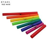 עולם 2012-8 T אורף כלי קשה פלסטיק חבית חבית ילדים מתנות חינוך מוקדם Serinette Serinette אורף תוף ערכת חם