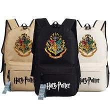 Harry Potter Backpack School Bags Book Student Bag Cosplay Hogwarts Fashion Shoulder Bag Backpacks Travel Bag for teenagers