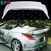 For Nissan 350Z Glass Fiber Spoiler Body Kit Car Styling Auto Tuning Part For 350z Fiberglass VS Convertible Spoiler