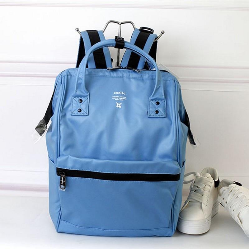 日本ブランドの Pvc 防水バックパックガールボーイティーンエイジャーの抗盗難ノートパソコンのバックパック女性旅行バッグ  グループ上の スーツケース & バッグ からの バックパック の中 1