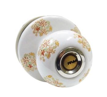 Ceramic lock the door when indoor European ball lock hold hand lock copper core  S-034