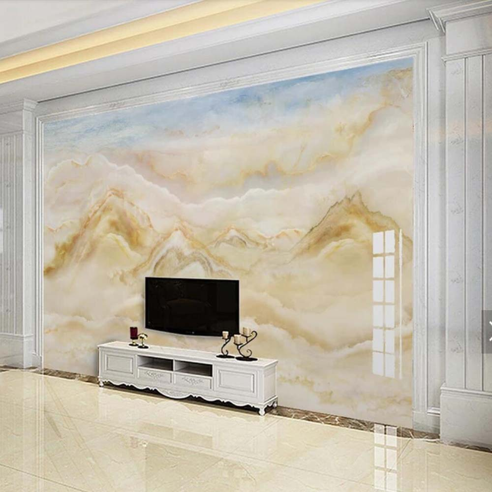 European Marble Contact Paper Murals Paper 3d Wallpaper Photo Mural For Living Room Wall Decor Custom Any Size Landscape Mural