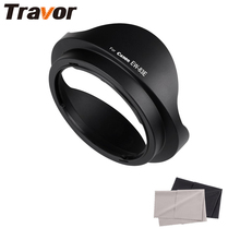 Travor EW-83E Lens Hood for CANON EF 20-35mm/f/3.5-4.5L & CANON EF 17-35mm/f/2.8L with 2pcs Microfiber Lens Cloth free shipping