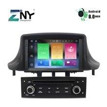 7 «Android 8,0 Автомобильный gps для Ближнего Востока Renault Megane 3 Fluence автомобильное стерео радио DVD навигационная система бесплатная резервная камера