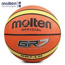 Super Deal Original Molten GR5 GR6 GR7 Basketball Ball High Elastic For Indoor Outdoor Training With Net Needle