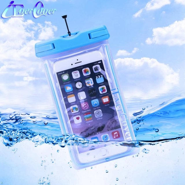 best loved 394b1 b7903 US $4.04 19% OFF|Waterproof Luminous Phone Pouch Case for Motorola Moto E4  / E4 Plus , Z2 Force / Z2 Play , G5 C / C Plus Underwater Bag Cover-in ...