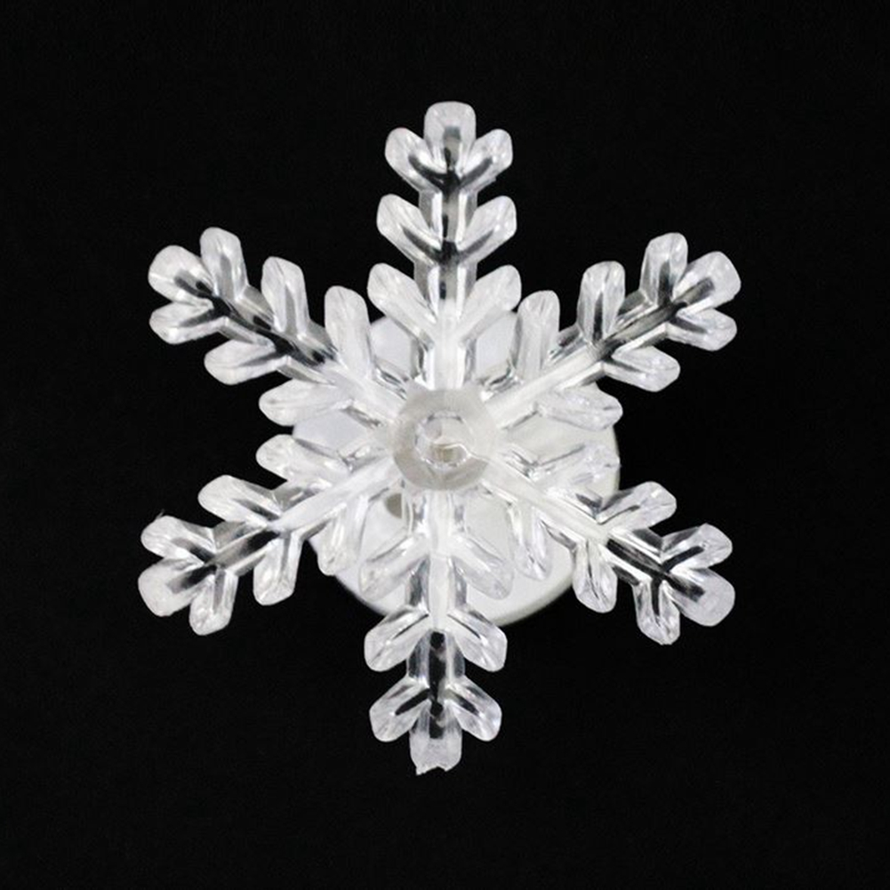 Christmas window decorations lights - Lumiparty Led Lighted Snowflake Christmas Window Decoration For Led Light Christma New Year Gift Night Light Random Color