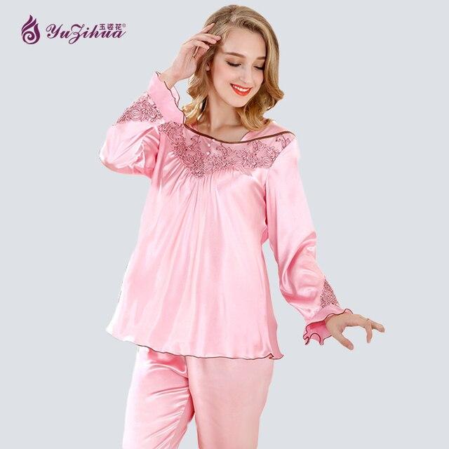8a50315daf Yuzihua Lace Pijamas Mujer Pijama Feminino Pyjamas Women Pajamas for Women  Pijama Set Sleepwear Pyjama Femme Pijama