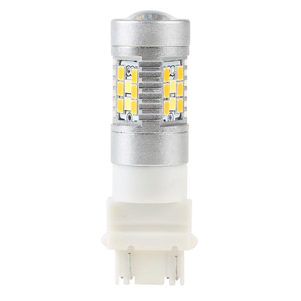 2 ədəd 3157 dönüş siqnal işığının işığı 28 LED ikiqat - Avtomobil işıqları - Fotoqrafiya 3