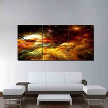 HD Print Nebula Pictures Home Decor Framework Abstract Cotton Cloud Paintings Modern Living Room Wall Art Canvas Modular Poster