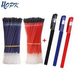 13pcs/Lot 0.38mm Office Gel Pen Refill Set Signature Pen Red Blue Black Ink Refill Rod for Handles School Supplies Stationery