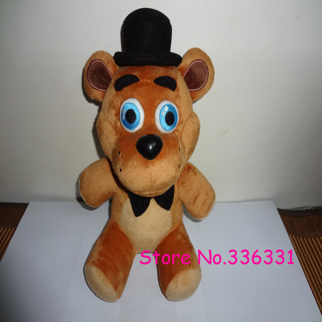 "In stock Five Nights At Freddy's 4 FNAF Freddy Fazbear Bear Plush Toys Doll 10"" Free shipping"