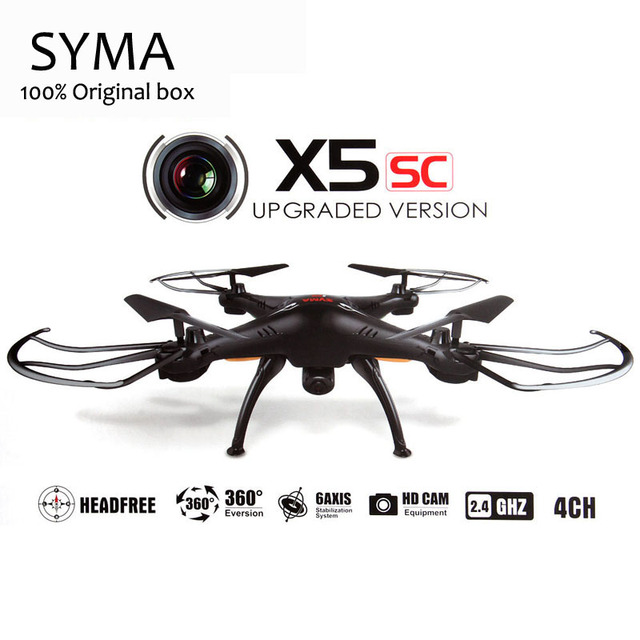 Syma X5SC X5C 2.4G 4CH 6-Axis RC Quadcopter Helicopter RC Dron Professional Drones With Camera Christmas Toy