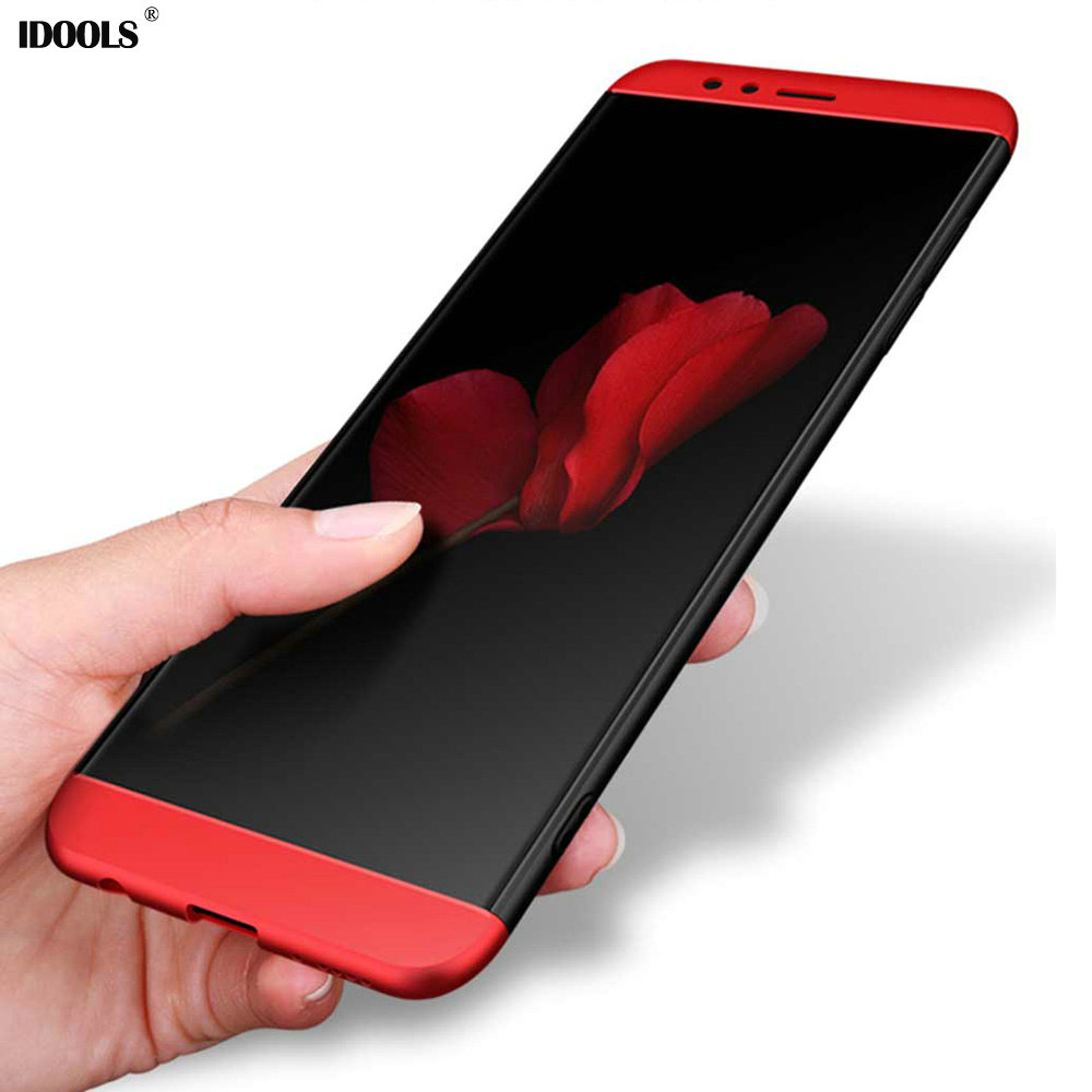 IDOOLS For Huawei Honor 7X Case Honor7X Back Cover 2 in 1 PC Full Protection Cases For Huawei Honor 7X 7 X Phone Bags 5.93 inch ...