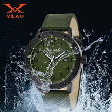 Males Wrist Mens Watches Top Brand Luxury Wristwatch Man Clock Military Sports Date day Display Nylon Quartz Boys Watch 120104