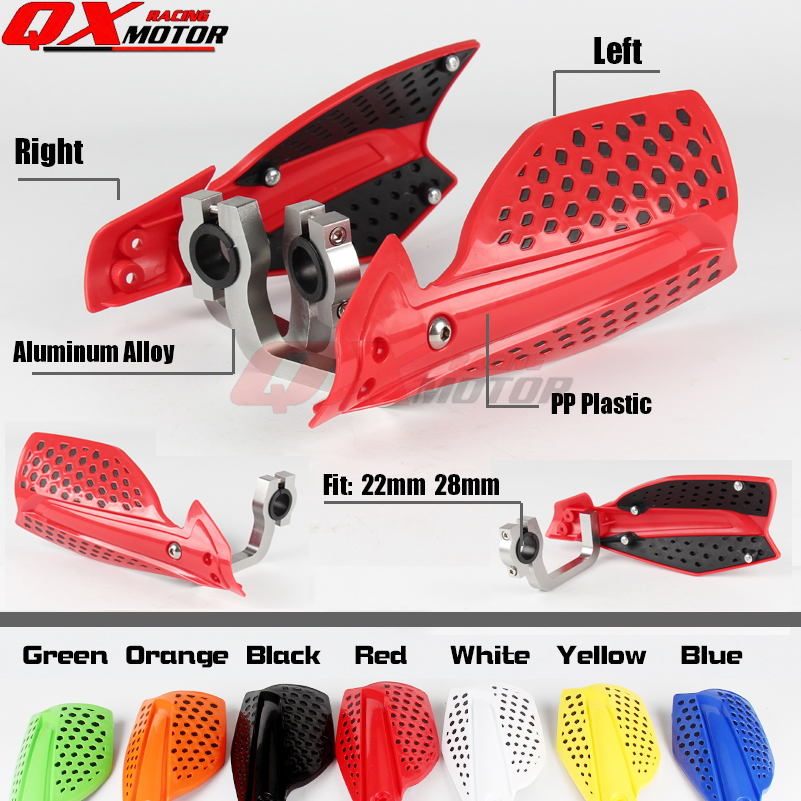 Motorcycle Hand Guards For HONDA XR CR CRF 110 125 150 230 250 450 R/X Dirt bike Motocross Enduro Supermoto Free shipping 270mm front brake disc rotor for cr 125 250 500 crf 250r 250x 450x 450r 230f motocross supermoto enduro dirt bike off road