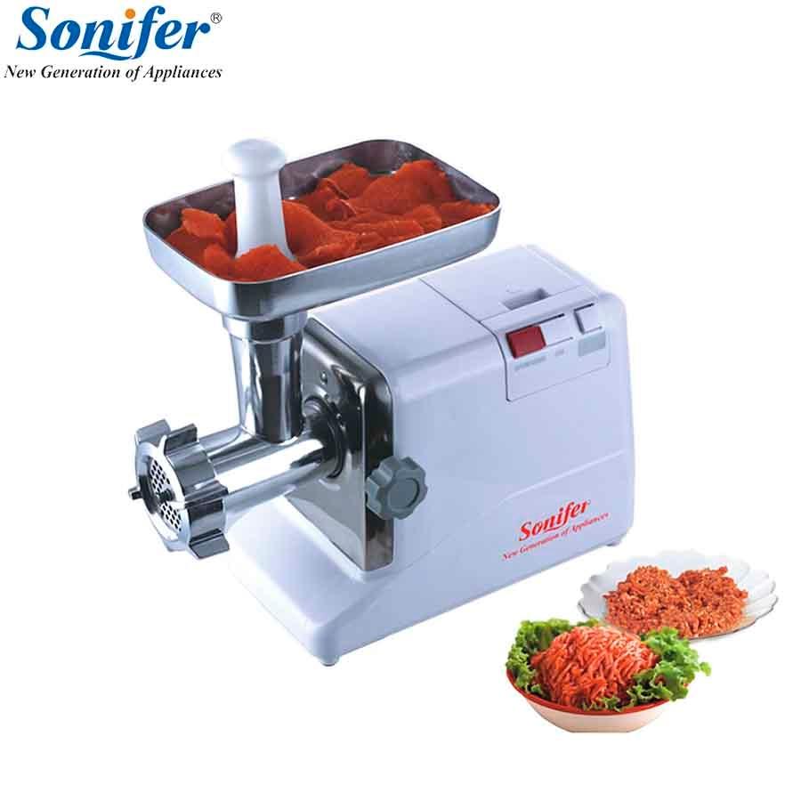 2000W Original Home Electric Meat Grinder Sausage Stuffer Mincer Heavy Duty Household Mincer Sonifer electric automatic meat grinder household mincer
