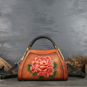 Image 2 - حقائب يد نسائية كلاسيكية من جلد طبيعي من جوهنيتشر 2020 حقائب يد نسائية عصرية غير رسمية حمل على الكتف أو عبر الجسم