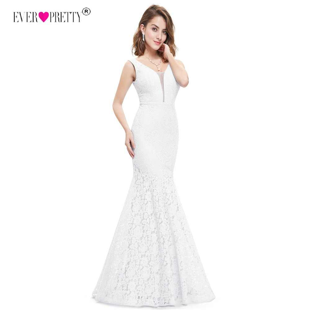 Plus Size Ever Pretty Corset Lace Mermaid Wedding Dresses 2020 Simple Elegant Wedding Gowns for Bride Dress Boda robe de mariee