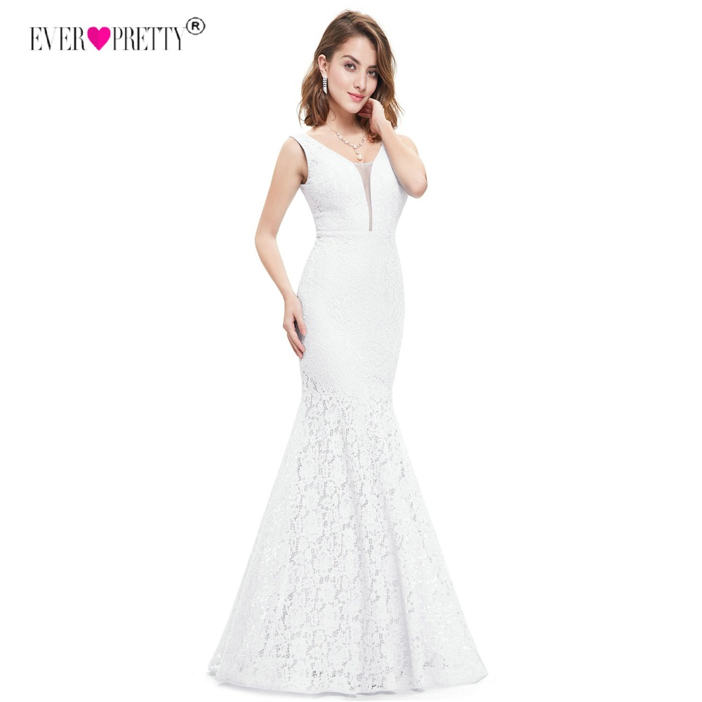 Ever Pretty Corset Lace Mermaid Wedding Dresses 2018