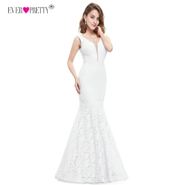 Ever Pretty Corset Lace Mermaid Wedding Dresses 2018 Simple Elegant Wedding Gowns for Bride Dress Boda robe de mariee EP08838