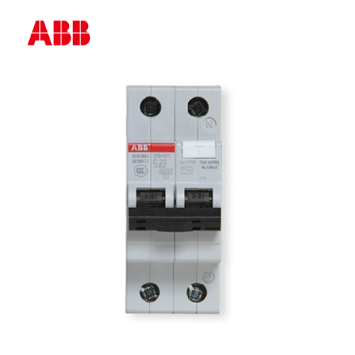 ABB breaker leakage switch 1 p + N20A air leakage  switch leakage circuit protector air switch residual current circuit breaker dz15le 100 490 100a