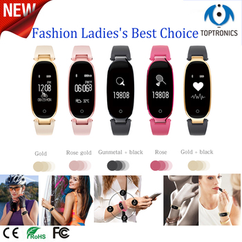 New Arrival Bluetooth Waterproof Smart Watch Fashion Women Ladies Heart Rate Monitor Fitness Tracker Smartwatch for Android IOS