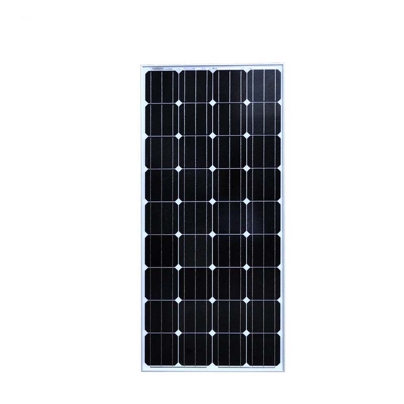 Waterproof Solar Panel 150W 12V Monocrystalline Placa Fotovoltaica Off Grid Solar Power System For Home RV Camping PV Module sp 36 120w 12v semi flexible monocrystalline solar panel waterproof high conversion efficiency for rv boat car 1 5m cable