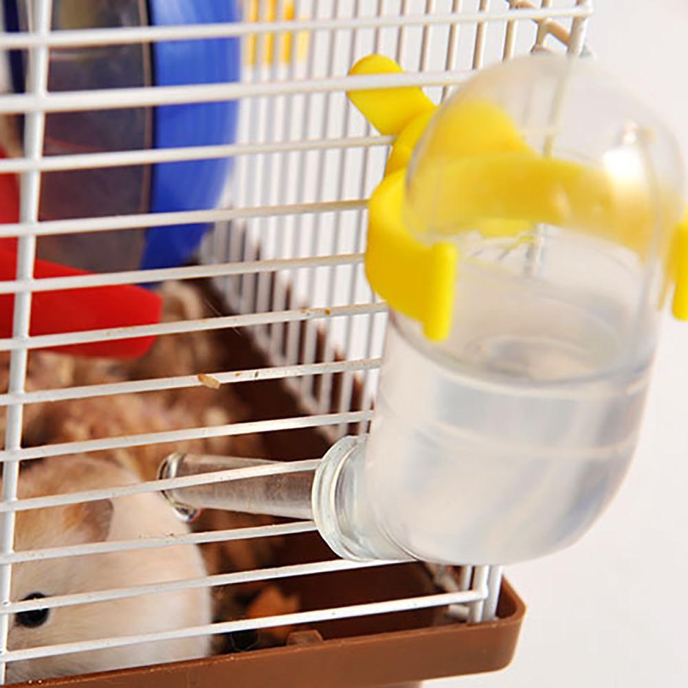 Hamster Water Bottle 1Pc 50ml Leak-proof Vacuum Pets Hamster Drinking Water Dispenser Feeder Bottles