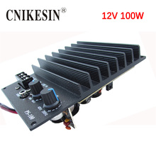CNIKESIN 12V 100W High Power Car Audio Power Amplifier Scooter Subwoofer Core Mono PS100