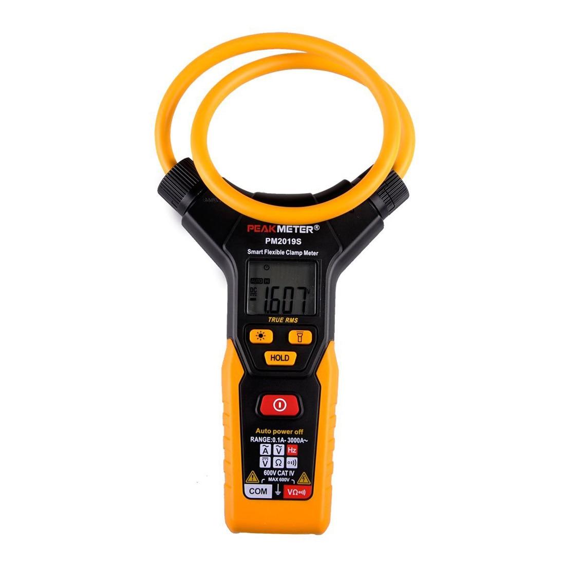 PEAKMETER PM2019S Digital Flexible Clamp Meter Smart AC DC Multimeter Voltage Tester svodka ot strelkova 19 06 2014 2019 s pometkoj srochno