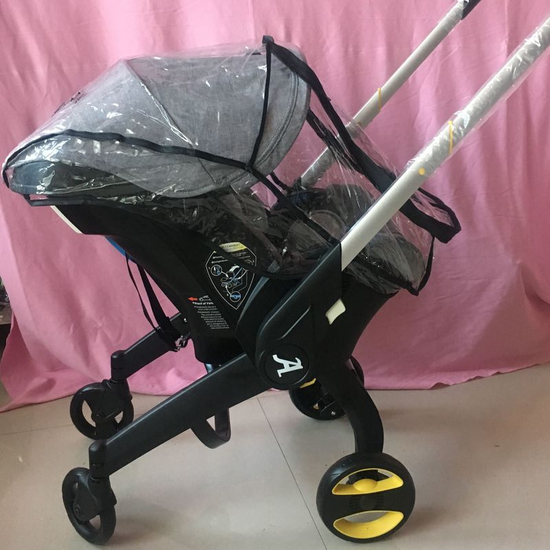 Wholesale Original Waterproof Rain Cover Wind Dust Shield For Doona Style  Baby Strollers Pram 100% Fit