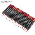 19 Цвета menow kissproof batom матовые помады макияж Водонепроницаемый карандаш для губ для сексуальных женщин губ придерживайтесь горячие продажи x 1 шт.
