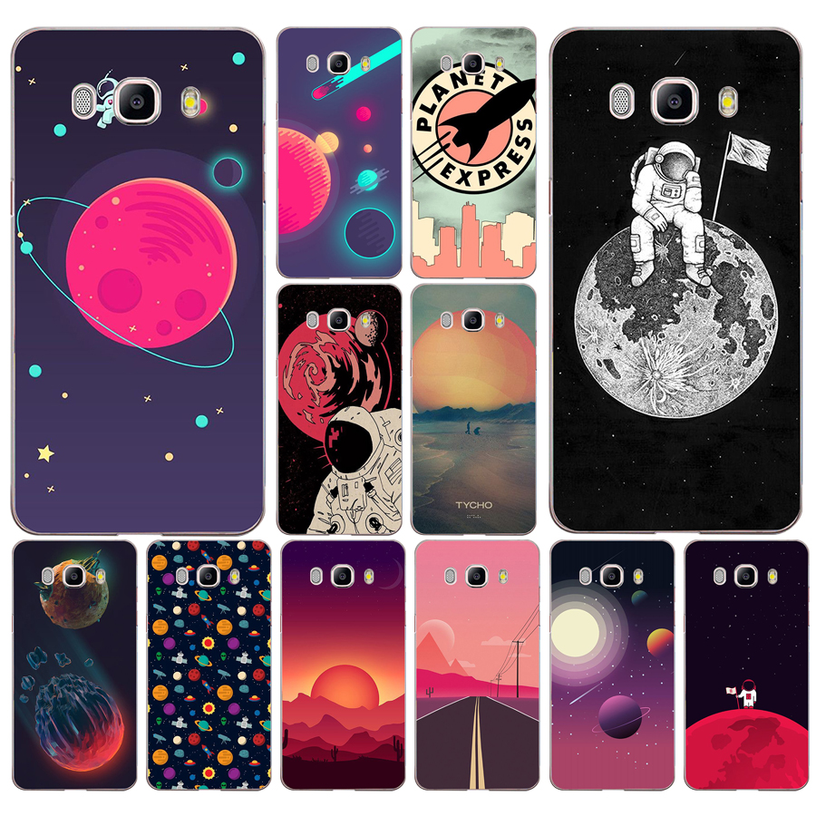 255ad Space Moons Cartoon Transparent Case Cover For Samsung Note 3 4 8 For Galaxy A3 A5 2017 J3 J5 J7 2015 2016 2017 Exquisite Craftsmanship; Half-wrapped Case Cellphones & Telecommunications