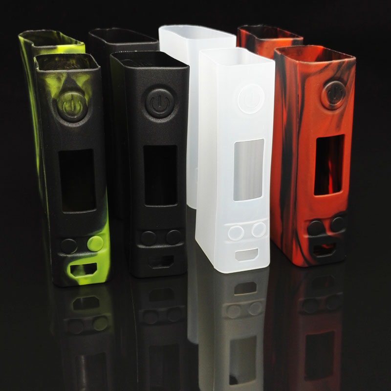 High Quality EVIC VTC Dual Kit 75w 150w Silicone Case 1Sets 2PCS Protective Sleeve Cover For EVIC VTC Dual