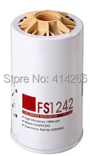 Free Shipping FS1242 fleetguard fuel water separator cumminus fuel filter  Детская кроватка