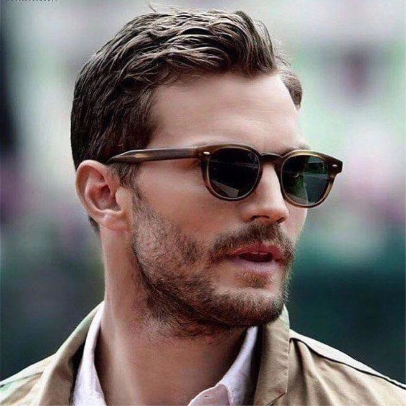 Vintage quality retro round UV400 polarized sunglasses 5036 sheldrak imported acetate sunglasses style fashion original box