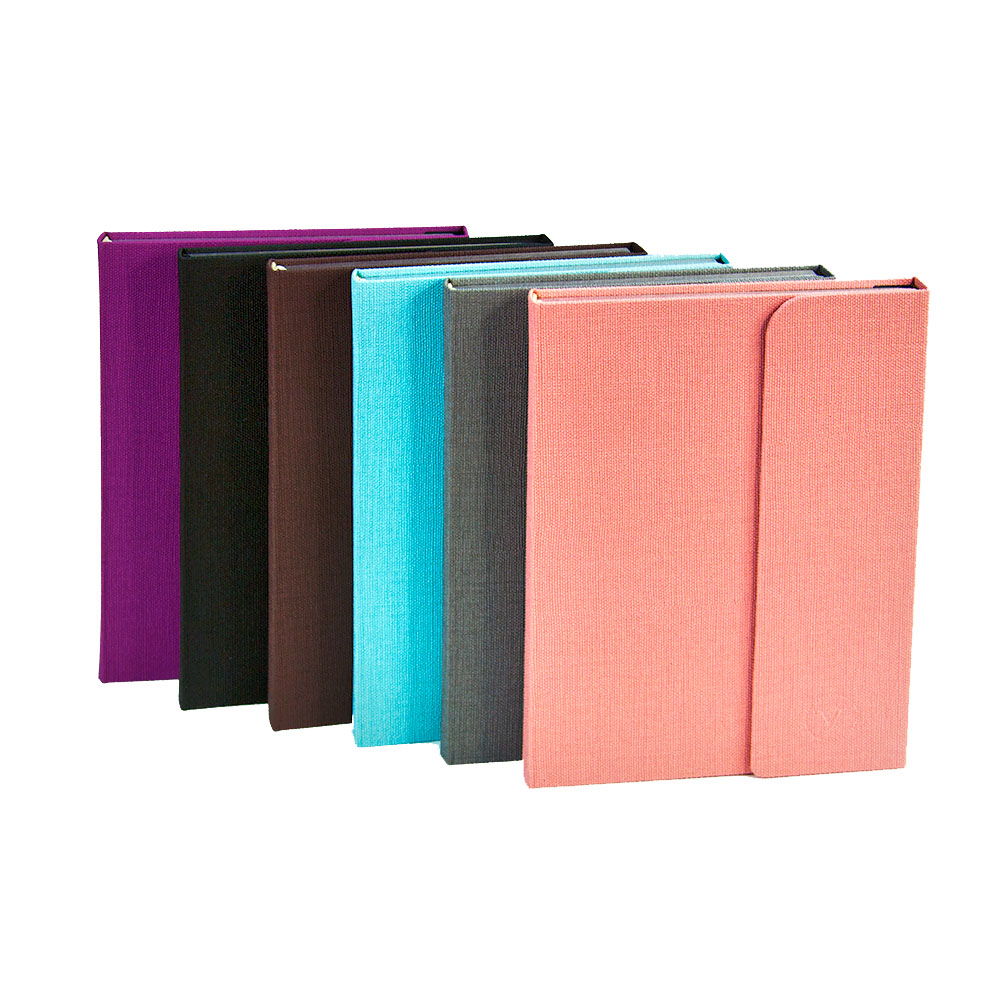 все цены на Textile Notebook MAGNETICO OFFICE Hard Cover Ruled Journal онлайн