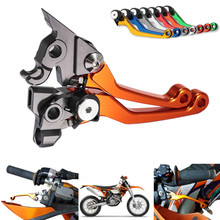 Brake Clutch Lever 450 EXC 250SX-F 250XC-F 250 SX-F Motorcycle CNC Pivot Levers Dirt Bike For KTM cnc pivot brake clutch levers for ktm 450exc 250sx f 250xc f 450 exc 250 sx f xc f 2007 2008 2009 2010 2011 2012 2013