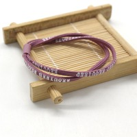 Unique Fashion Double Layered Letters Hair Ring Elastic Rope