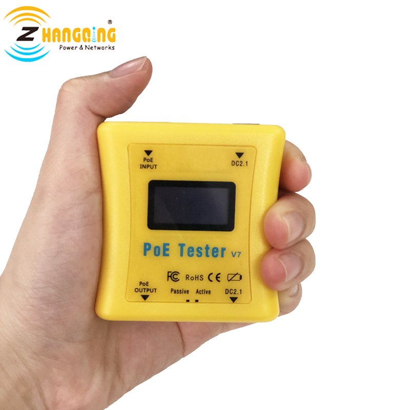 New PoE Tester Gen2 Quickly Detect And Identify PoE Type, Measure DC Power Supply, Show Volts, Amps, Watts For Your Devices