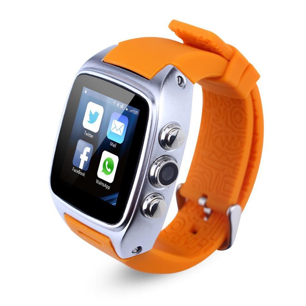 4GB Smart Watch Phone Android 4. 4 OS Dual Core 2G GSM 3G WCDMA 2100MHz Sports Pedometer Heart Rate GPS WIFI IP67 Waterproof автомобильный dvd плеер joyous kd 7 800 480 2 din 4 4 gps navi toyota rav4 4 4 dvd dual core rds wifi 3g