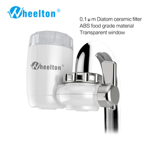 Image 2 - Wheelton Water Filter Faucet 8 Layers Purification Ceramic Activated Carbon&KDF And More Household Kitchen Water Purifier