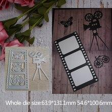 Camera Photo Metal steel frames Cutting Dies stencils For DIY Scrap booking Photo Album Embossing paper Cards