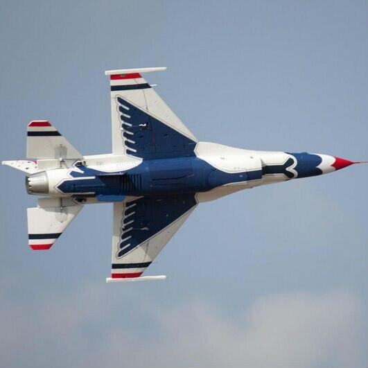 Freewing Scale 90mm EDF Jet F16 Thunder Bird PNP